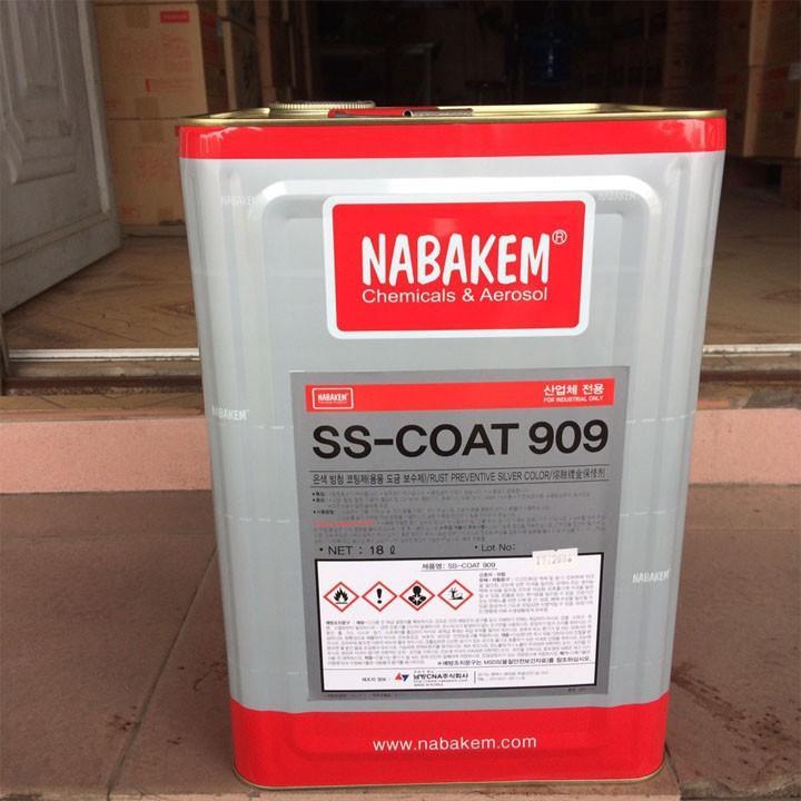 Chất tráng phủ chống rỉ Nabakem SS-Coat 909 18L