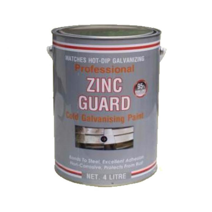 Sơn mạ kẽm lạnh Emonra ZG400 4L (5kg)