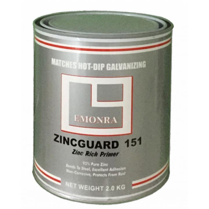 Sơn mạ kẽm lạnh Emonra Zinc Guard ZG 151 2kg