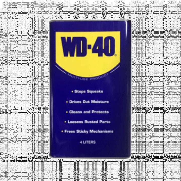Dầu chống rỉ sét, bôi trơn WD-40 1 gallon