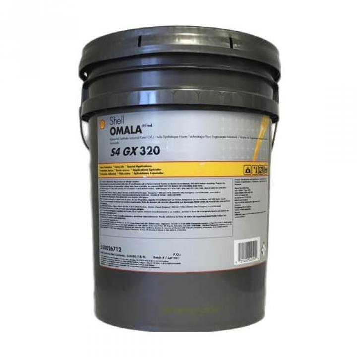 Dầu bánh răng công nghiệp Shell Omala S4 GX 320