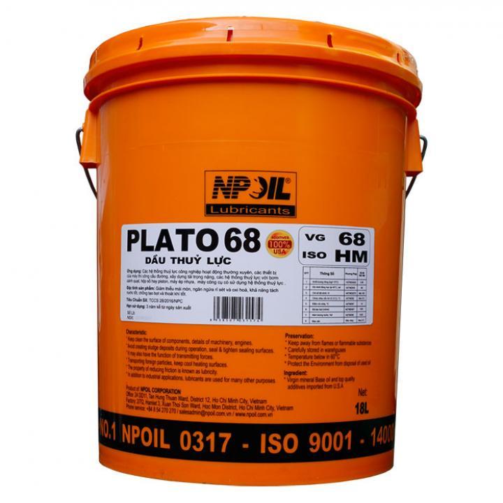 Dầu thủy lực NP Oil Plato 68 C18.01