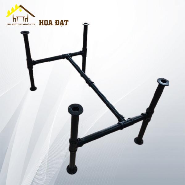 Khung bàn nối ống sơn đen tĩnh điện, 37Wx23Dx30H icnh (Bộ)