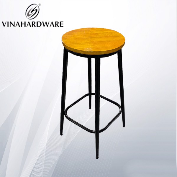 Khung ghế sắt chân ống côn không lưng tựa (nhiều loại) VNH001247