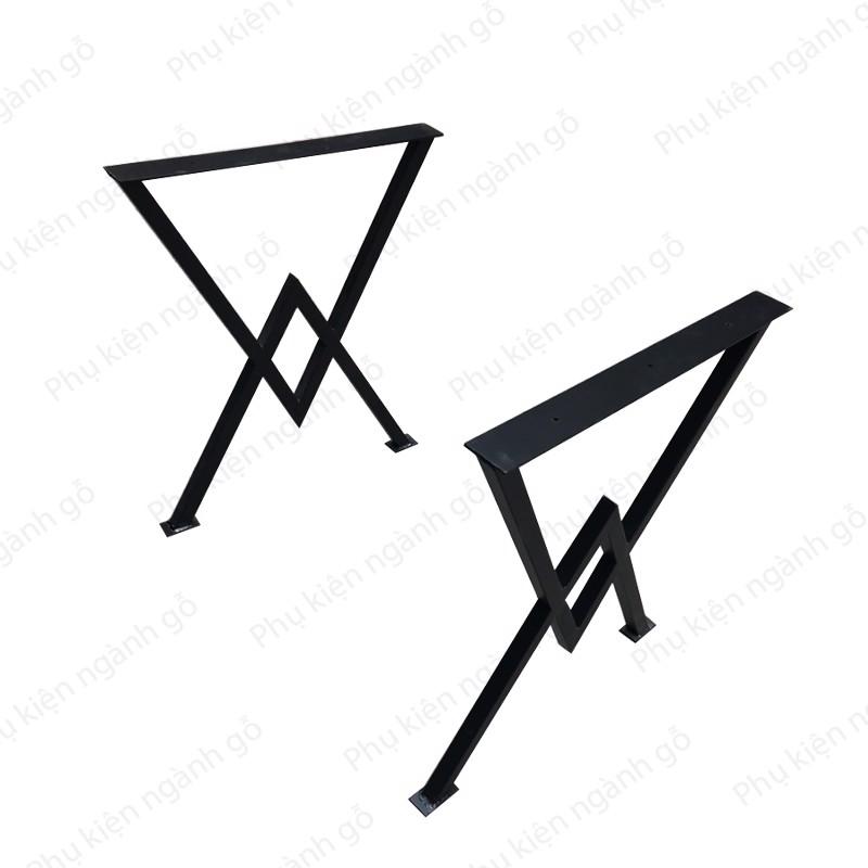 Chân bàn sắt thiết kế tam giác SP028321