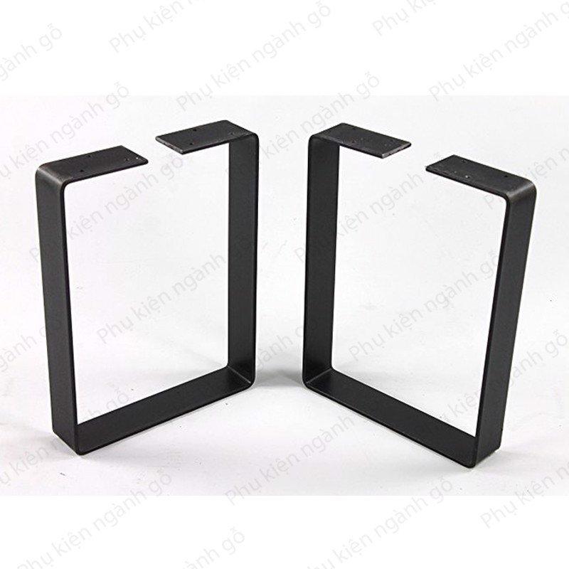 Khung chân bàn ghế sắt sơn đen (nhiều loại) SP028377 (Bộ)