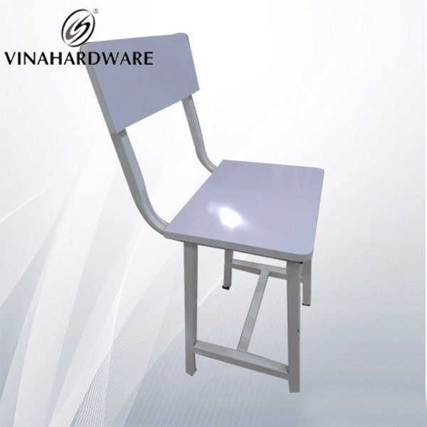 Khung sắt chân ghế vuông 25 dày 1ly sơn trắng tĩnh điện SP286113