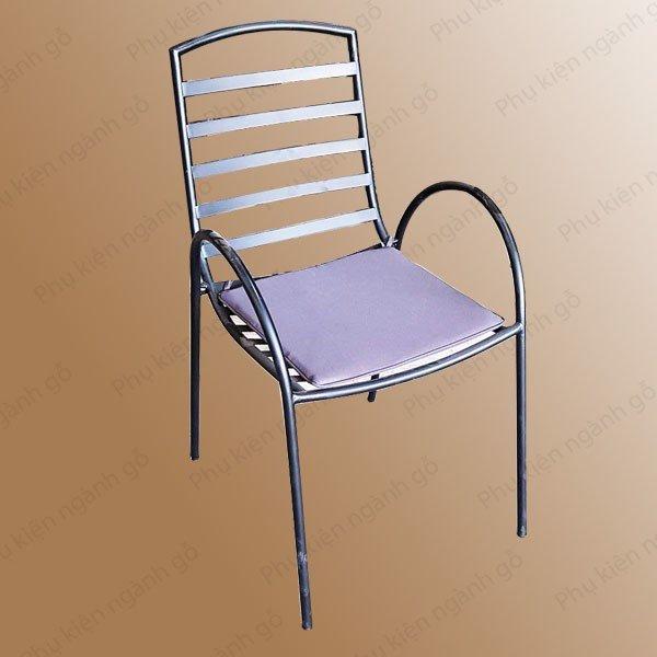 Ghế sắt lưng tựa sơn tĩnh điện cao 500mm  SP028489 (Cái)