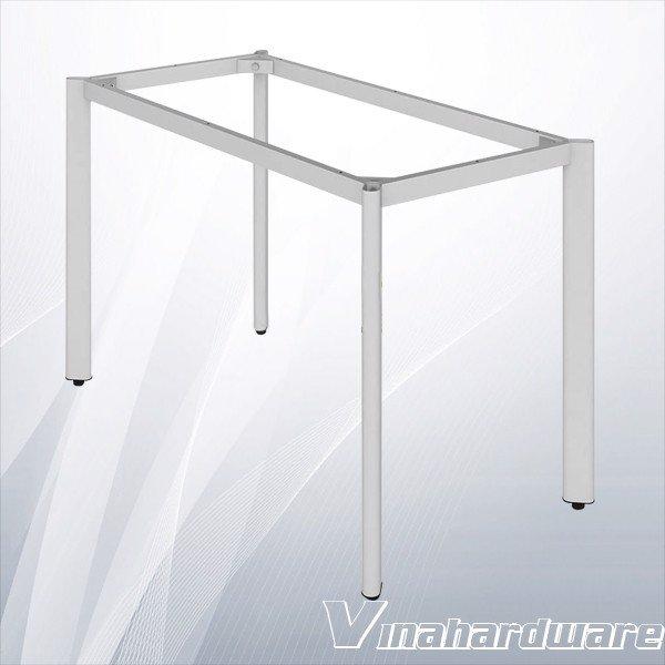 Khung bàn sắt xám chân ovan văn phòng (nhiều loại) VNH286088