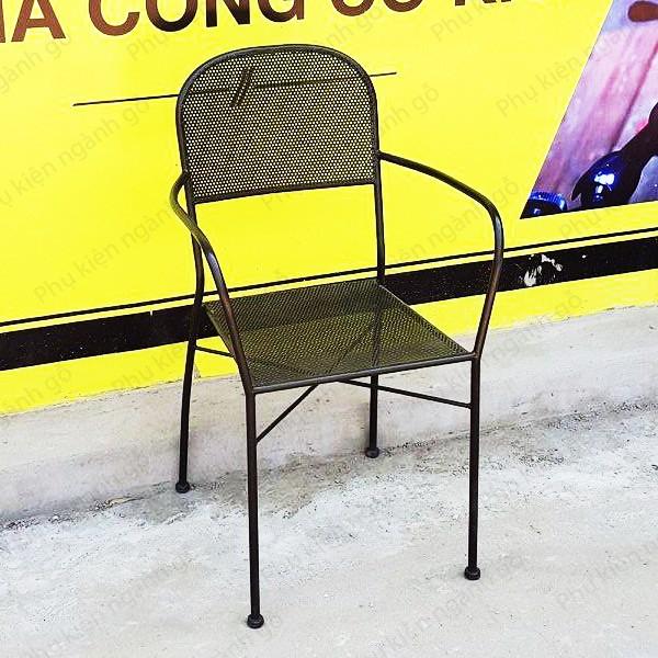 Ghế cafe sắt mặt lưới sơn tĩnh điện SP028511 (Cái)