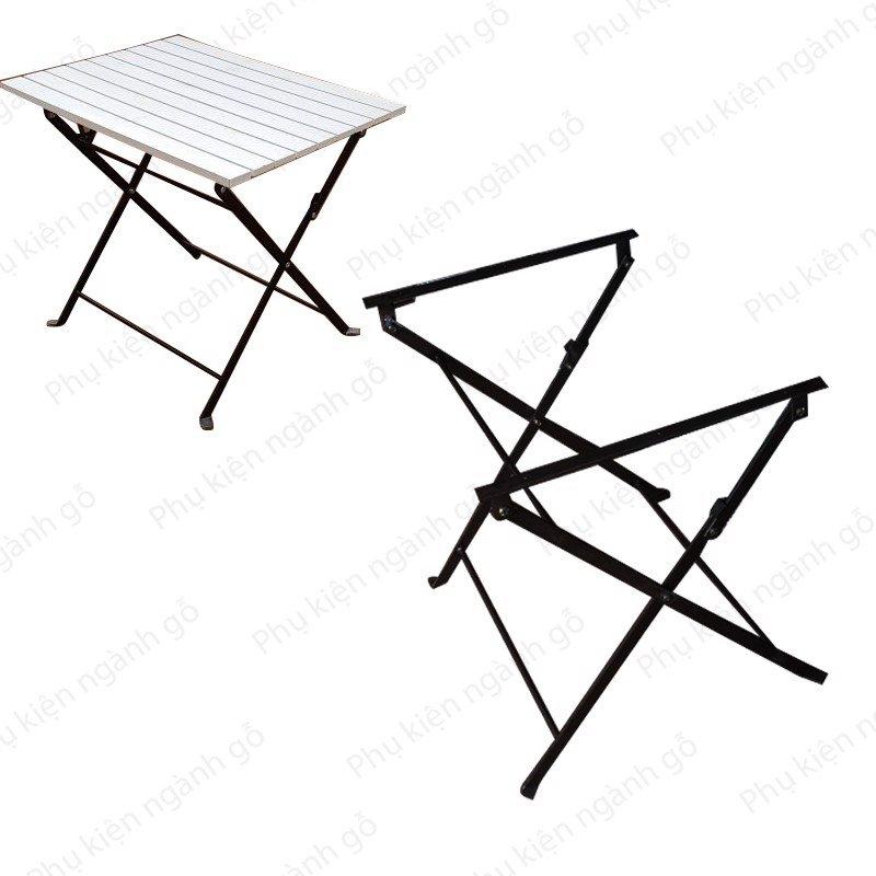 Khung bàn cafe xếp gọn bằng sắt VNH028428 (Cái)