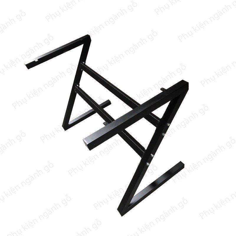 Chân bàn thiết kế z sơn đen SP028320 (Bộ)