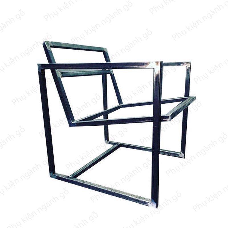 Khung ghế sắt hộp 30x30mm cao 500mm rộng 500mm SP028370