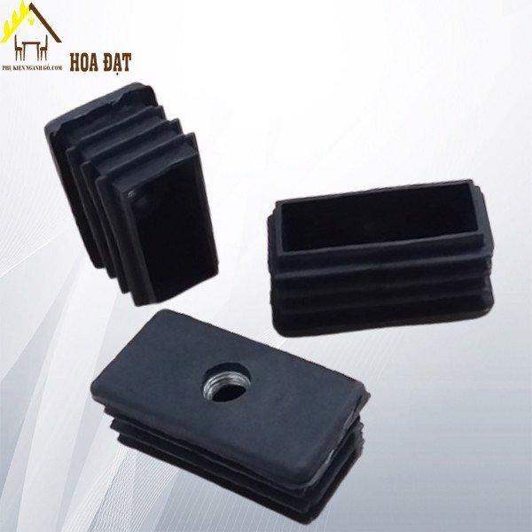 Chân đế nhựa tăng chỉnh chân bàn chữ nhật 30x60mm lỗ ren M10 TA3060M10 (cái)