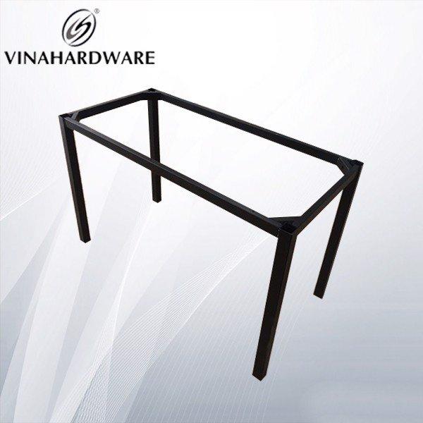 Khung bàn sắt cố định 1150x550x730mm sơn đen tĩnh điện VNH2923222 (Cái)