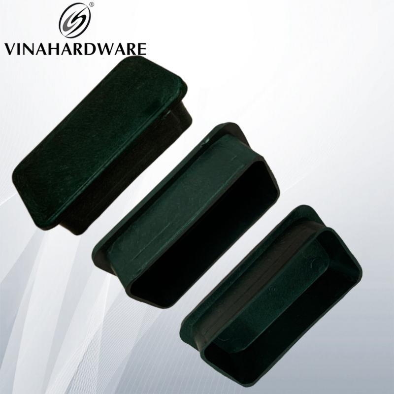 Chân đế nhựa 40x80mm dùng cho sắt hộp dày 3ly PB40803D (Cái)