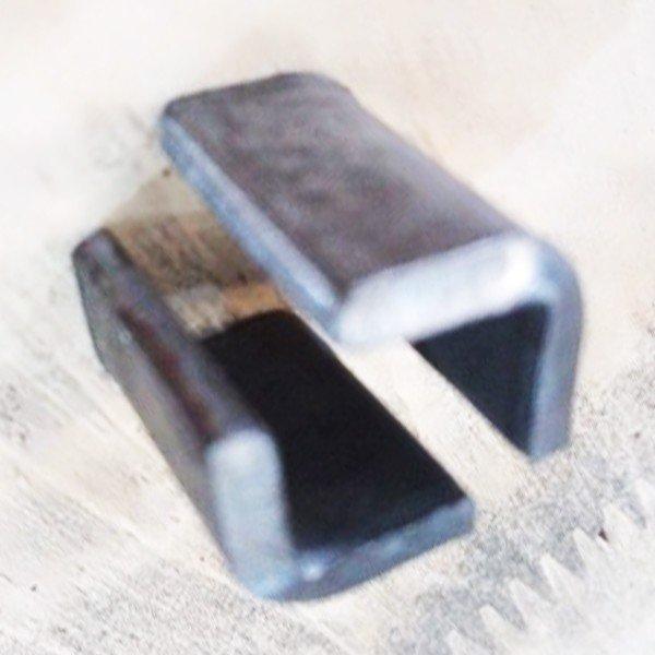 Pát sắt 20x12x3mm xi trắng VNH P2012D3 (Cái)