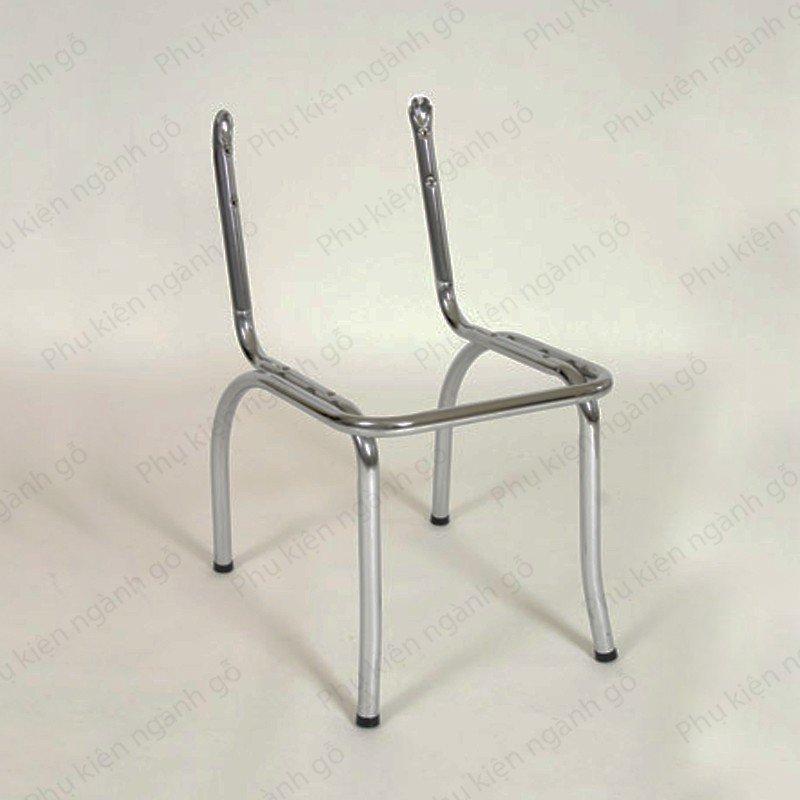 Khung ghế sắt xi mạ nikel sáng cao 50cm SP028371 (Cái)