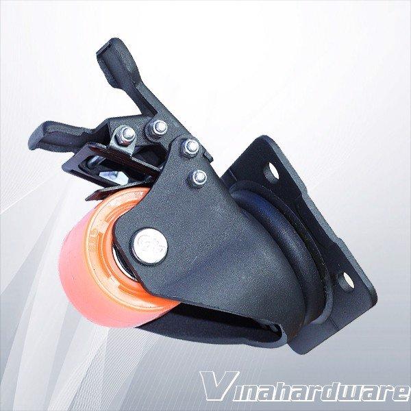 Bánh xe đẩy công nghiệp có khóa 50mm CT2061