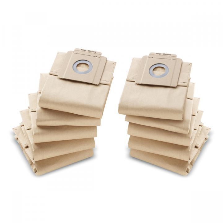 Túi lọc bụi giấy Paper filtering bag 10 St. Karcher