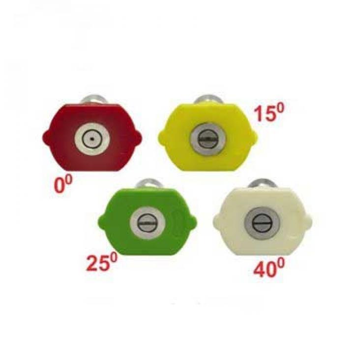 Béc phun xịt máy rửa xe 0-15-25-40 độ (Nối nhanh)