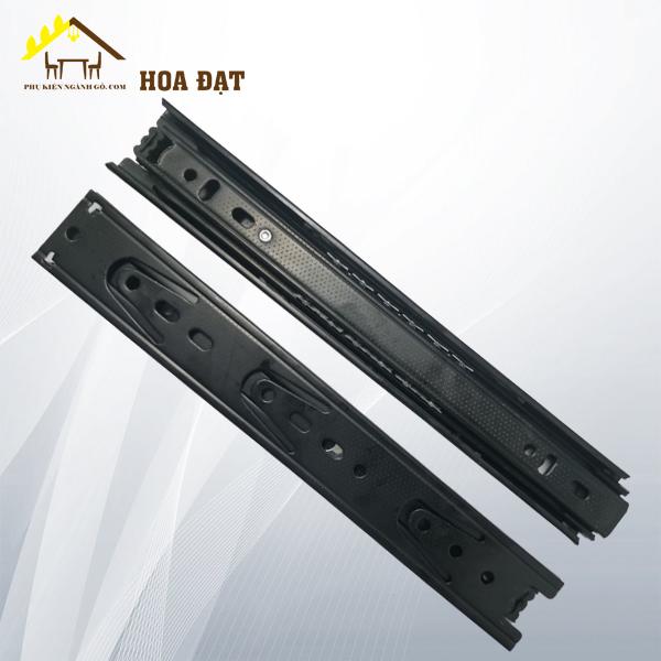 Ray bi ba tầng màu đen, bản 35, dài 250mm BBS035250PB (Cặp)