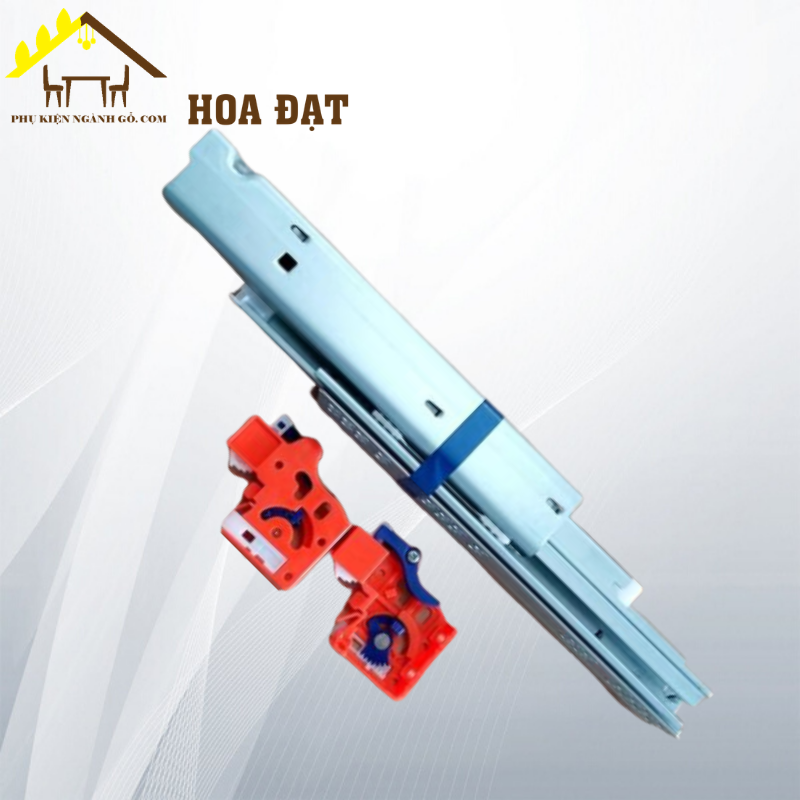Ray âm giảm chấn 3 tầng, dài 300mm Hafele UDS0347300HL (Bộ)