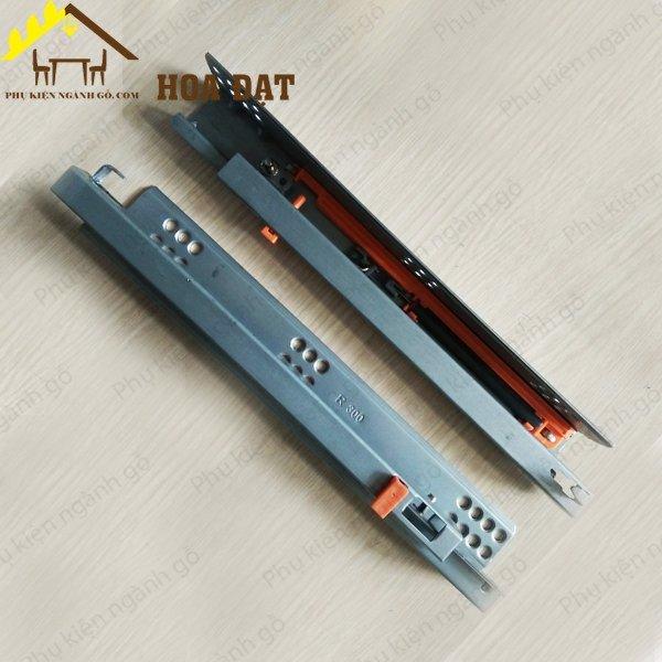 Ray âm giảm chấn trắng 2 tầng (nhiều loại) mở 3/4 UDS0247300L (Cặp)