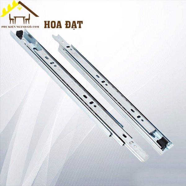 Ray trượt bi 3 tầng bản 35mm (nhiều kích thước) màu trắng BBS0335300ZI