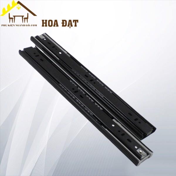 Ray trượt bi ba tầng giảm chấn màu đen (nhiều loại) SCB45350Z1