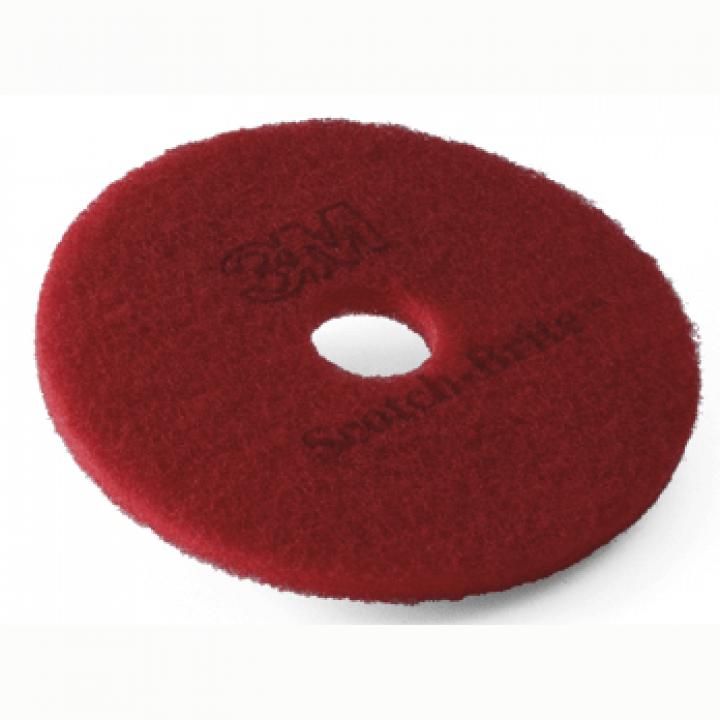 Pad chà sàn 3M đỏ (hộp 5 miếng)