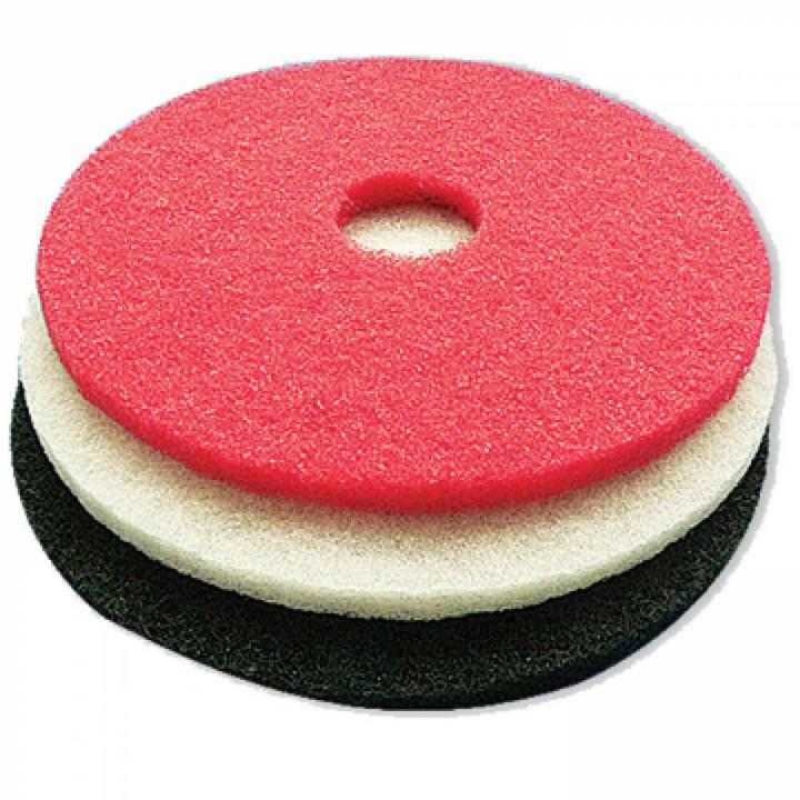 Miếng pad đánh sàn 17 inch (đen, trắng,đỏ)