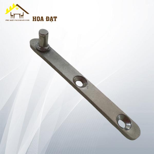 Bản lề nikel (77x9x3)mm, chốt dài 5mm P0981 - HDHI84 (Cái)