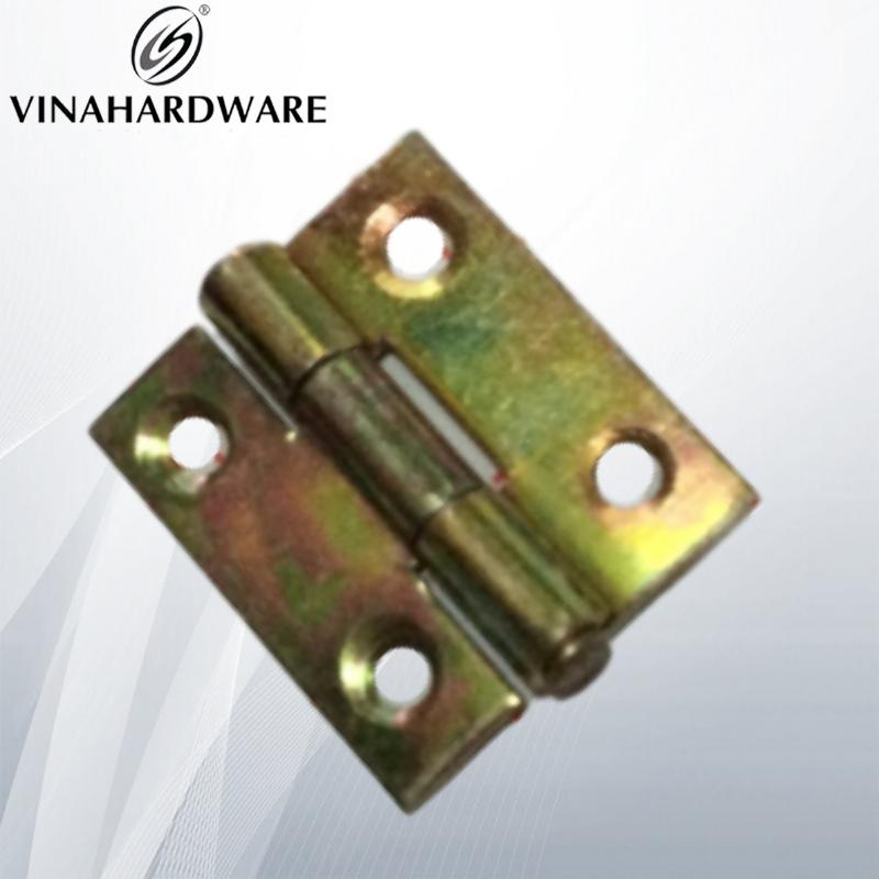Bản lề sắt xi bảy màu 25x25mm H2525 (cái)