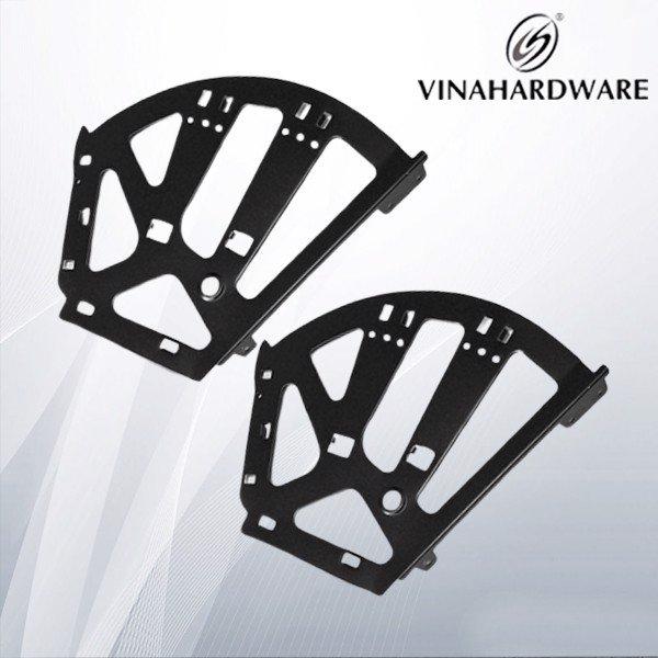 Bộ bản lề khung kệ giày xếp gọn màu đen PSS924B (Bộ)