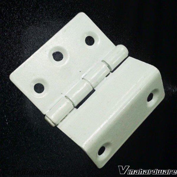 Bản lề lá U 40mm sơn trắng tĩnh điện H0008Z23