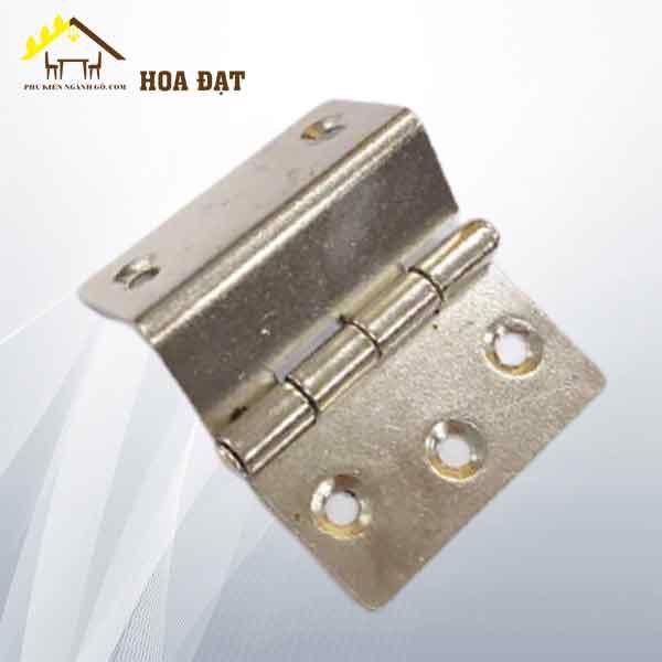 Bản lề U 40mm, dày 1.6mm nikel H0008N23 - HDHI88 (cái)