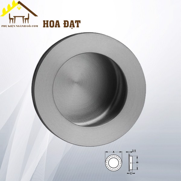 Tay nắm âm tủ | Cabinet handle HD0406T