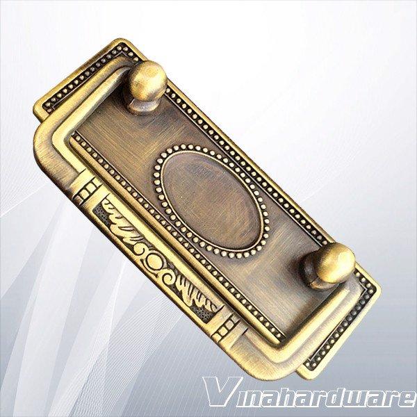 Tay nắm ngăn kéo màu đồng cao cấp 96mm HD0160