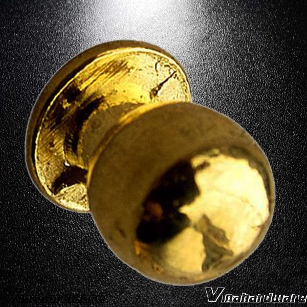 Núm tay nắm tủ màu vàng HD0260