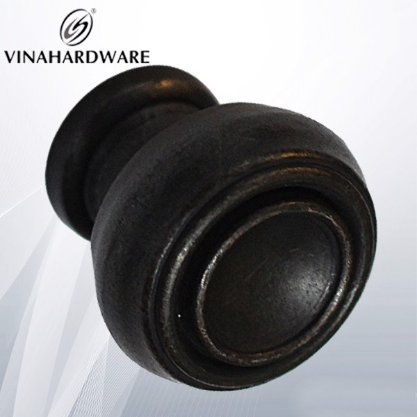 Núm tay nắm tủ màu đồng cổ 30mm HD2011