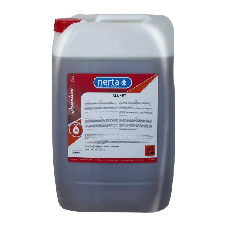 Dung dịch tẩy rửa động cơ, dầu mỡ Nerta ALUNET 25L