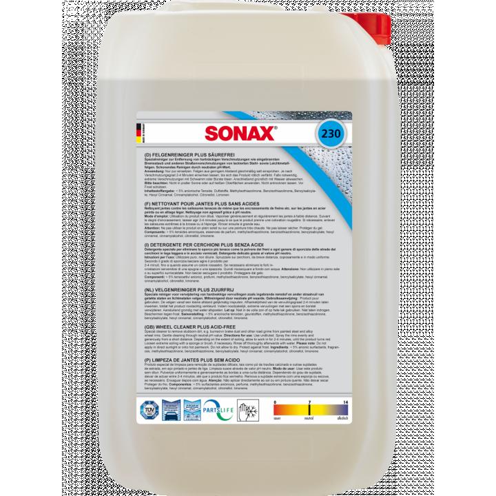 Dung dịch làm sạch mâm (vành) Sonax 230500