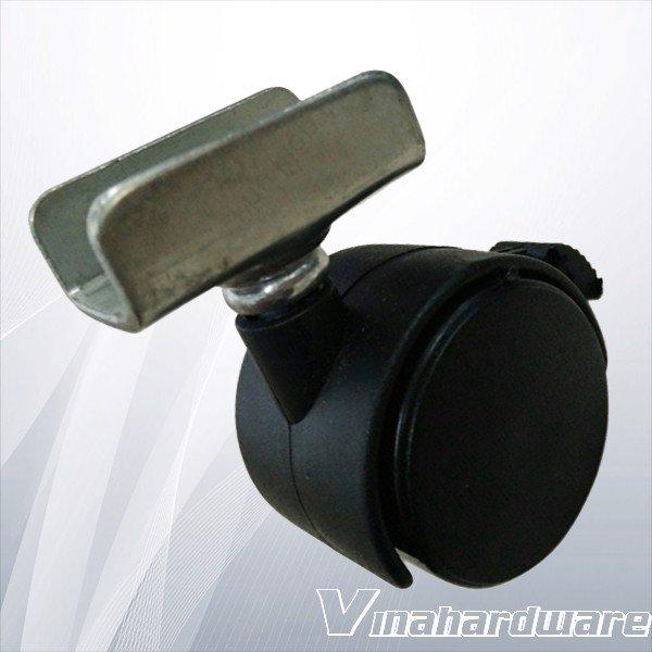 Bánh xe tủ đế U 19mm CTU8232 (cái)