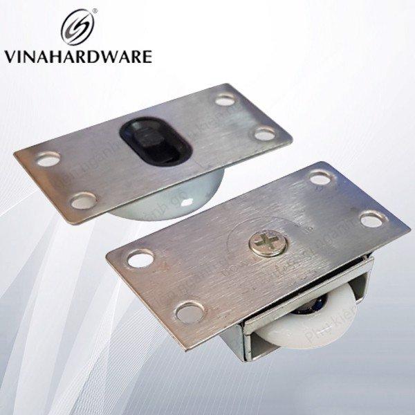 Bánh xe cửa lùa UV Inox CT001IN (bộ 1 cái)