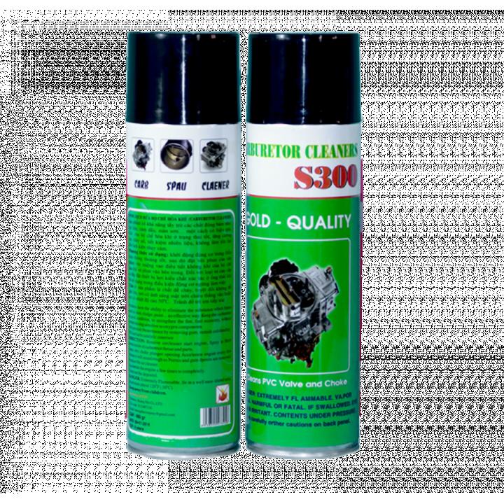Dung dịch rửa bộ chế hòa khí Socare S300 480ml