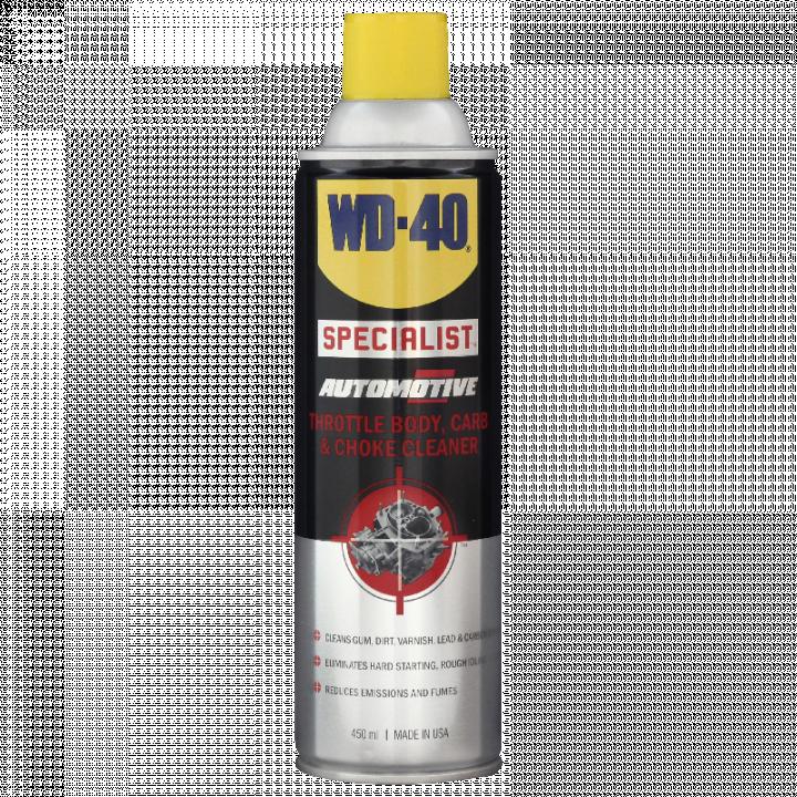 Hoá chất tẩy rửa bộ hoà khí WD-40 Throttle Body, Carb & Choke Cleaner 450ml