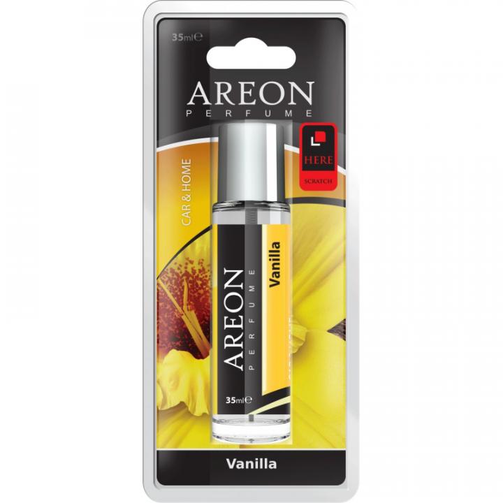 Nước hoa ô tô dạng xịt Areon APC01 Vanilla
