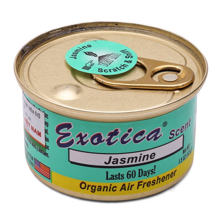 Sáp thơm hộp tròn mùi Jasmine Exotica ESC-JAS