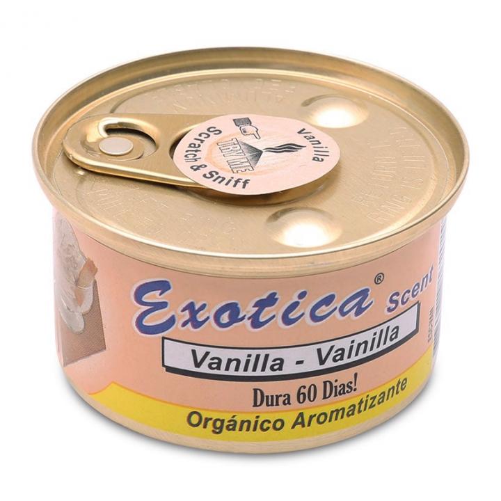 Sáp thơm hộp tròn mùi Vanilla Exotica ESC-VAN